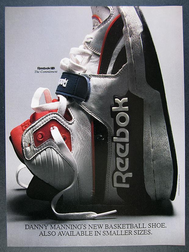 1988 Reebok the Commitment Basketball